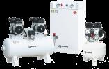 Компрессоры медицинского назначения для обеспечения сжатым воздухом стоматологического, медицинского, лабораторного оборудования и инструмента