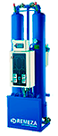 Heat regenerated desiccant dryers, serie RMWE
