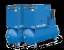 На базе компрессоров типа ВК (воздушные, винтовые маслозаполненные, с осушителем холодильного типа)